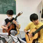 愛知大学ギターアンサンブル部との練習開始!