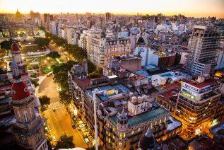 アルゼンチンの街並み